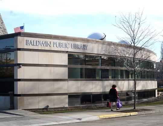 The Baldwin Public Library at 300 W Merrill St, Birmingham.