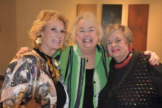 Sarah Milmet, Suz Hunt and Phyllis Eisenberg enjoyed the festivities.