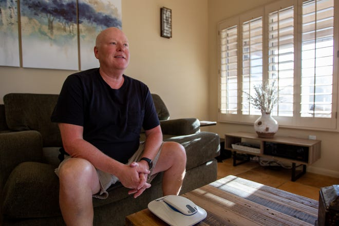 John Collins moved to Cave Creek last year with hopes of a shorter heart transplant waiting list.