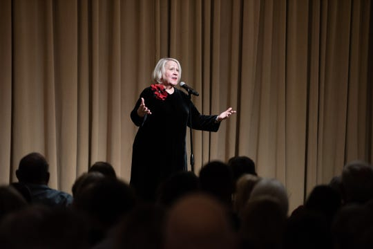 Celebrity Dining: Liz Warren tells her story throughout the Arizona Storytellers Venture items the