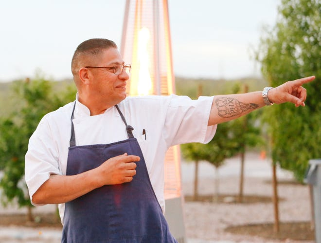 Vincent Contreras is the head chef at GuacStar, a Mexican restaurant in Tempe with an entirely plant-based menu.