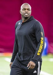 Former ASU wide receiver Derek Hagan is now coaching the position going into the Sun Bowl and 2020 season.
