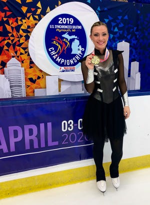 Kelley Buc teaches special education at Garfield Elementary, and participates in competitive skating outside of work.