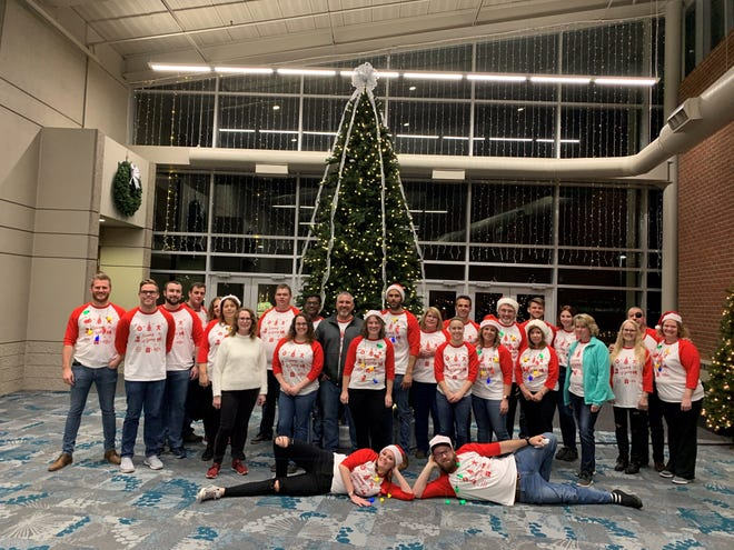 """Local children are the guests of honor at """"The Evening of Giving"""" that precedes the annual Festival of Trees event organized by McLaren Port Huron."""