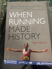 """""""When Running Made History,"""" by Roger Robinson."""