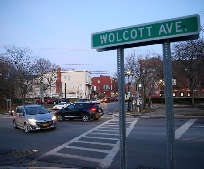 The intersection of  Main Street and Wolcott Avenue in Beacon on December 23, 2019.