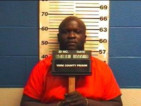 Levar Fountain, charged with two counts of criminal homicide.