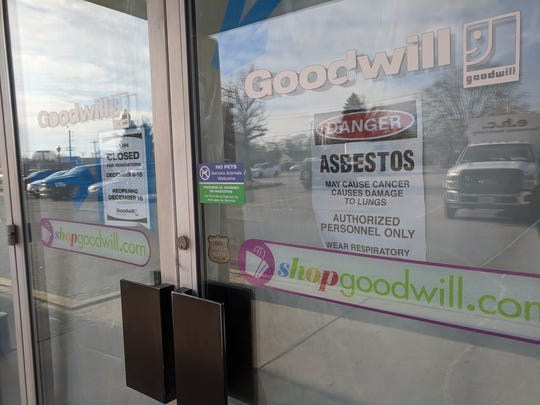 The Goodwill at 1120 Roosevelt Avenue is currently closed for renovations. The store closed for renovations on Friday, Dec. 6 and was supposed to re-open on Monday, Dec. 16. However, traces of asbestos were found in the floor adhesive in the building, so re-opening has been delayed until the asbestos has been removed and renovations are complete.