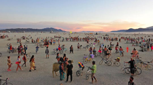 Burning Man requested permission to have 100,000 people at its annual desert festival. The BLM said no.