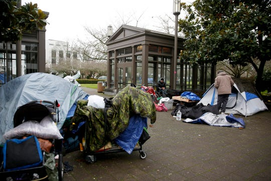 Homeless told to leave Capitol grounds after establishing ...