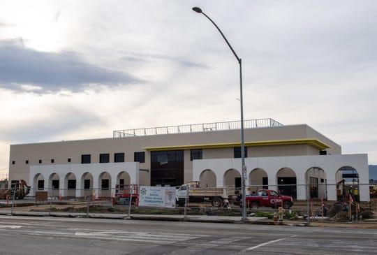 Los nuevos cuarteles de la Policía de Salinas ubicados entre E. Alisal y John Street, 21 de diciembre de 2019.
