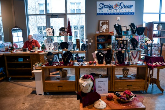 Non-profit Sharing the Dream sells handmade items from Guatemala on Monday, Dec. 16, 2019 at 421 N. Phillips Ave. in Sioux Falls. Sharing the Dream partners with Guatemalan artisans in order to reduce poverty.