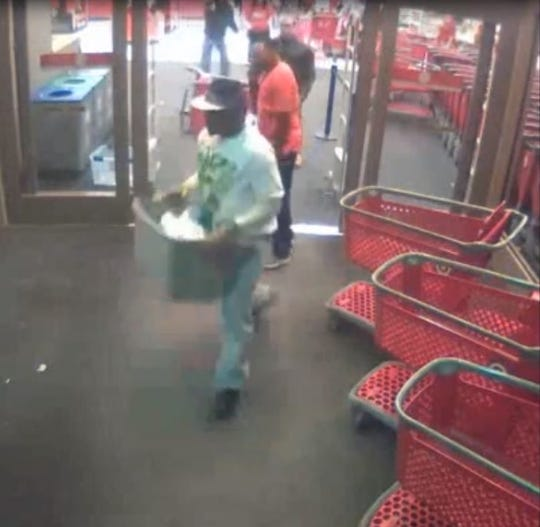 Police say they are looking for a man who robbed the Target in Springfield in November.