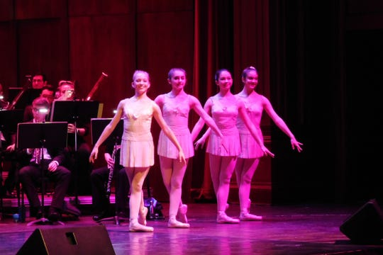 Dancers from Pas de Vie brought additional artistry to the concert.