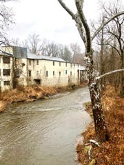 The Auburn Mill at Auburn Valley State Parks makes for a nice winter backdrop for the trees that line Red Clay Creek. Take the Yorklyn Bridge Trail to get this shot.