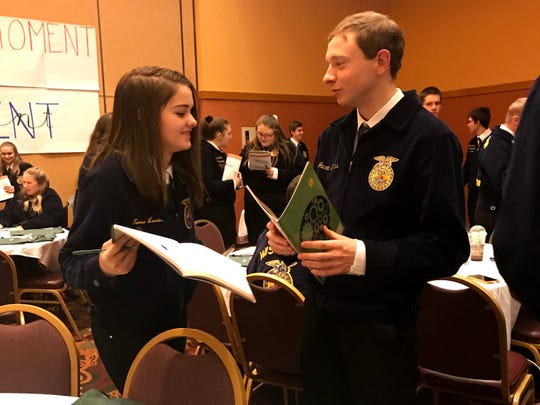 Nearly 1,100 Wisconsin FFA members had the chance to develop their visions alongside their peers at the 212/360 Leadership Conference held in the Wisconsin Dells this fall.
