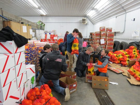 Agriculture classrooms stacked full of boxed fruit is a common scene for many Wisconsin FFA chapters in December as FFA members work hard to secure the resources to make their visions a reality. Thank you to everyone who supported these fundraisers!