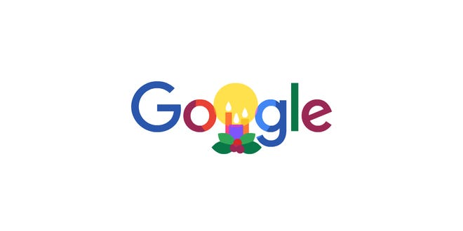 Google Doodle for the holidays
