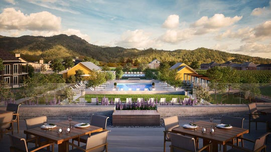 Four Seasons Resort and Residences Napa Valley is set to open next year.