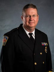 Swannanoa Fire Chief Anthony Penland