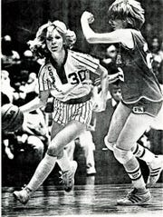 Molly Bolin grew up playing six-on-six basketball, but adapted to the five-player game to become a pioneer in women's pro basketball.
