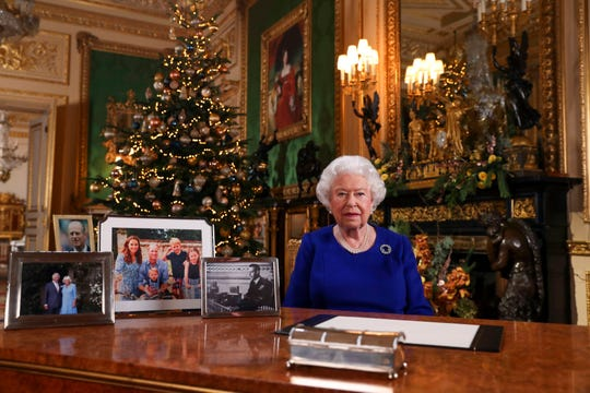 Excerpts released by Buckingham Palace of the pre-recorded message to be broadcast on TV on Christmas Day, show the Queen acknowledging that both Britain and her family have endured a difficult year.