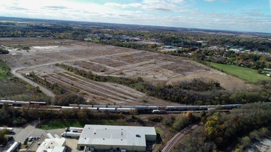 The 250-acre former General Motors Co. Janesville, Wisconsin site is being redeveloped for industrial use.