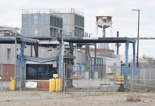 Exteriors of GM Warren Transmission plant in Warren, Michigan on December 17, 2019.