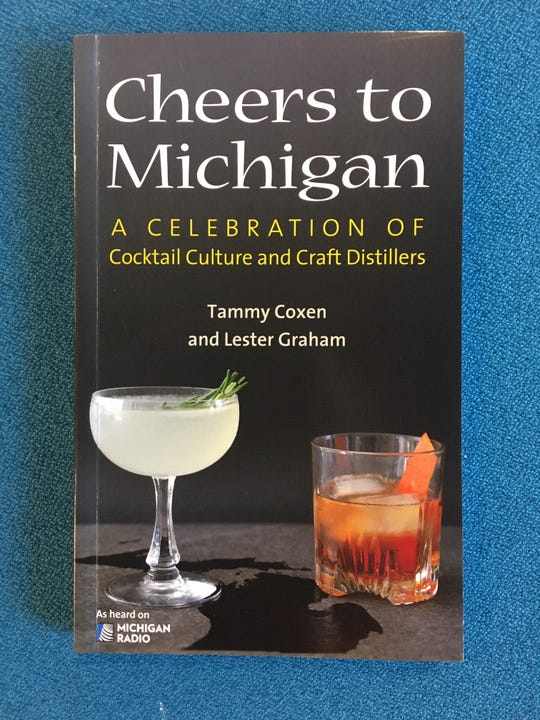 """A new cocktail guide, """"Cheers to Michigan,"""" arrives just in time for New Year's Eve."""