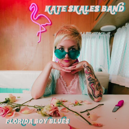 """Kate Skales Band's three-song EP """"Florida Boy Blues"""" was recorded at Cape Coral's Juniper Recording."""