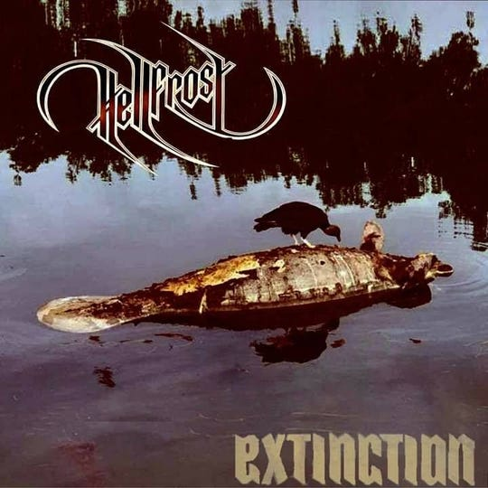 """Hellfrost's nine-song album """"Extinction"""" was released in August. The title track is based on Southwest Florida's red tide outbreak in 2018, says bassist Syd Vainer. """"The album cover is a photograph of a manatee that was poisoned by the red tide."""""""