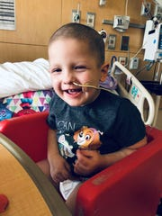Finnley Grace Foster will be home for the holidays for the first time in two years thanks to a successful bone marrow transplant.