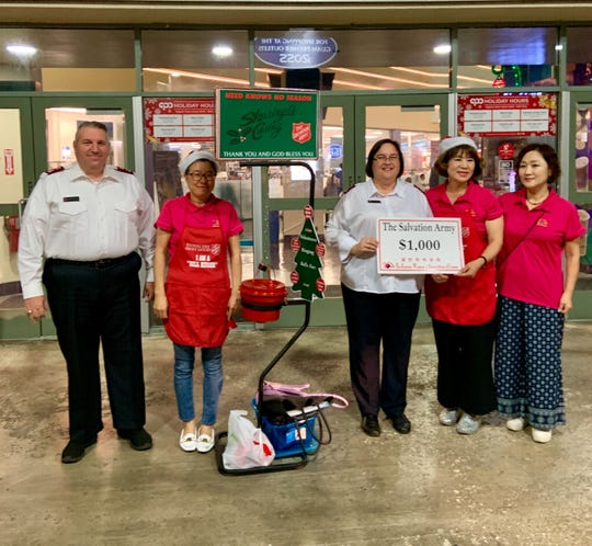 The Salvation Army Guam Corps accepts donations for its annual holiday bell ringer campaign.