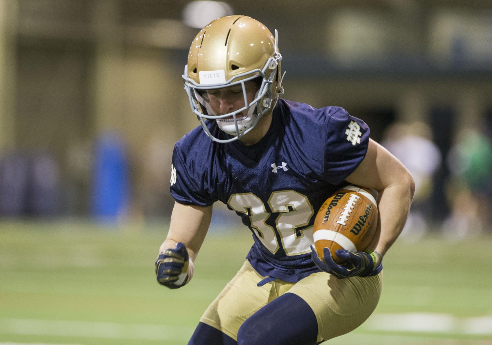 Notre Dame Football Rb Mick Assaf Is More Than Typical Walk O
