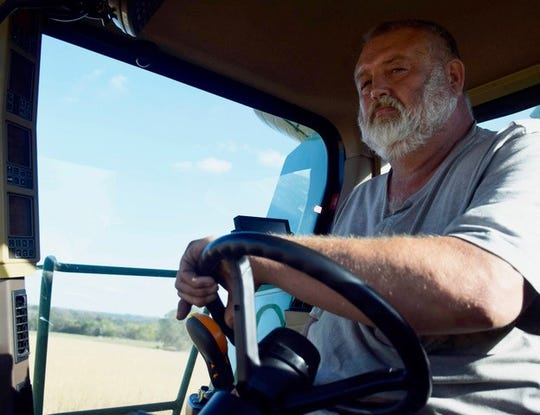 Farmer Jeff Deck, 60, is the fourth generation to farm Deck Family Farms in Ellettsville. He and his wife, June, raise corn and soybeans. Like farmers across the midwest, they've been hit hard by climate change.