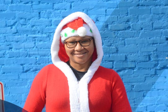 Helen Brown with the Hinds County Sheriff's Department started the motorcycle group Friends of Fallen Riders. For the last four years, the group has handed out toys to children in high-poverty areas in the city of Jackson. Brown organized a similar event on Dec. 24, 2019.