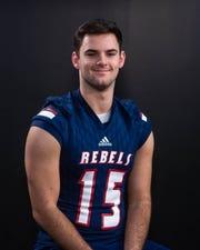 Noah Fontenot-2019 All-Acadiana Football. Thursday, Dec. 19, 2019.