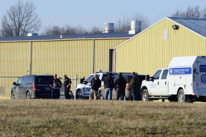 A man was found dead Tuesday at Ontario Mechanical LLC.