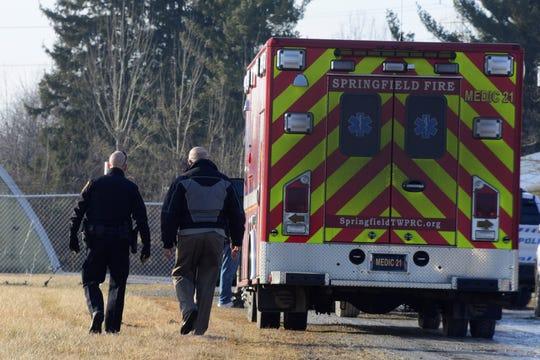 A man was found dead Tuesday at Ontario Mechanical LLC.