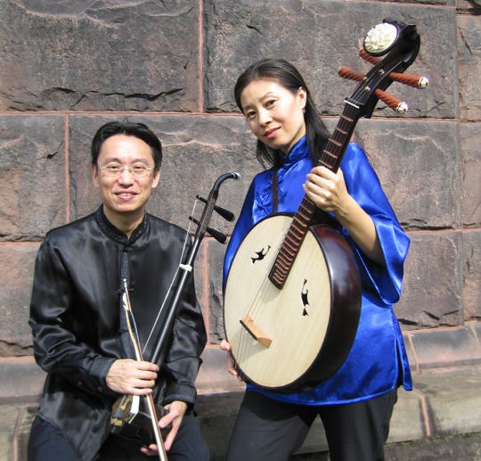 The Music from China Trio is one of more than 100 artists performing at 16 venues during the First Night Morris celebration New Year's Eve in Morristown.