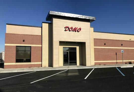 The new Domo on Wheeling Avenue is set to open on Monday, Jan. 6.