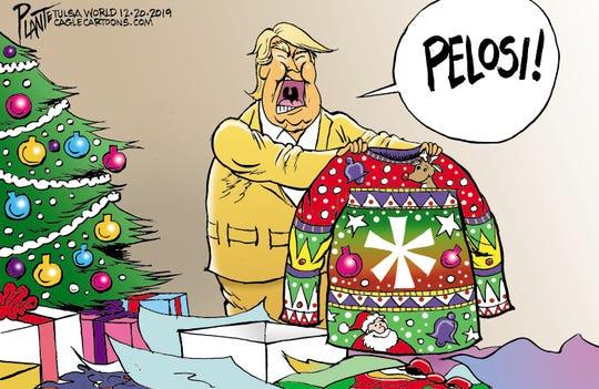Pelosi's gift to Trump.