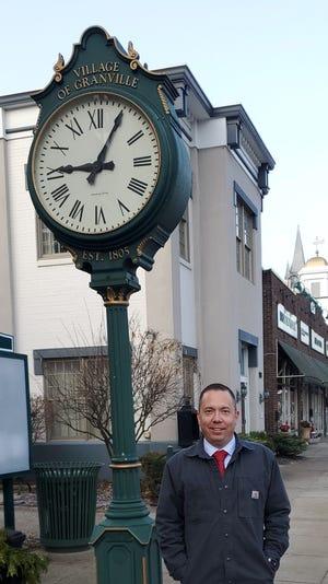 Herb Koehler became the new Village Manager of Granville in November.