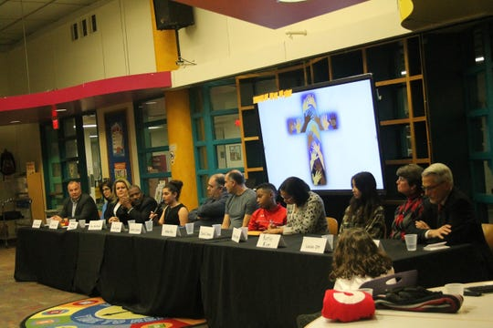 Members of the 'Diversity in Christianity' panel discussed their faith and various beliefs at Birmingham Covington School Dec. 16, 2019.