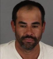 Noel Lopez Mejia was arrested on suspicion of igniting 10 wildland fires near Hemet.
