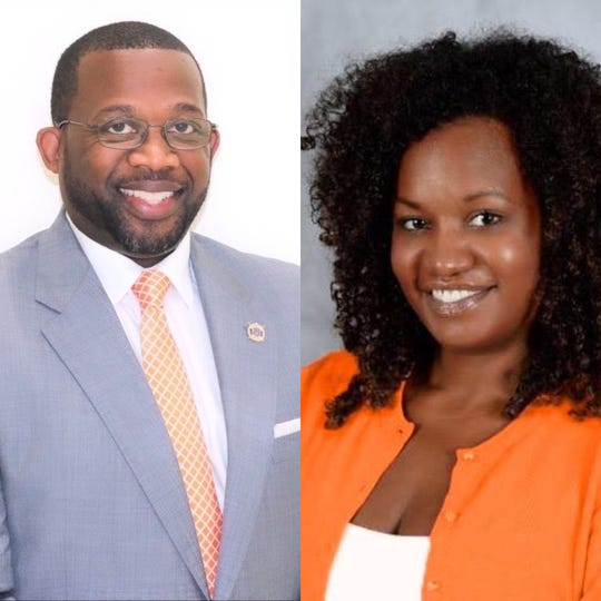 Keith McCluney (left) was recently hired as the Deputy Director of Athletics/Chief of Staff at FAMU. Karai Lockley joins the staff as the Senior Associate Athletic Director for Business and Finance/Senior Women's Administrator (SWA).