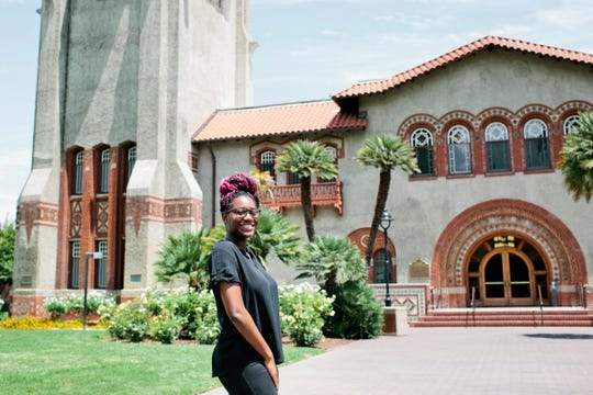 San Jose State University senior Jaelyn Deas, 22, is a recipient of the Spartan Completion Grant in San Jose. When Deas discovered that the grant would cover her summer school registration fees she said it felt like Christmas morning.