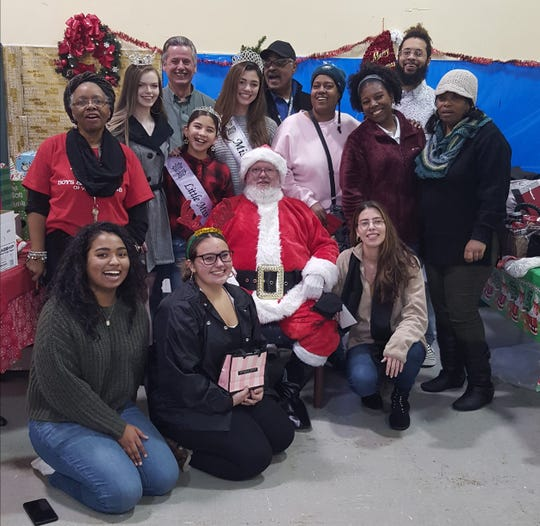 More than 40 children from Boys and Girls Club of Cumberland County, Vision of Hope and their parents enjoyed a festive Christmas party with Santa, which included a holiday meal.