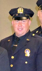 Yonkers Detective Sean Fogarty at his promotion ceremony in 2012