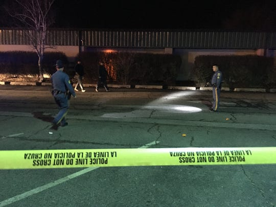 Police were investigating an incident at the Christiana Skating Center Monday night.